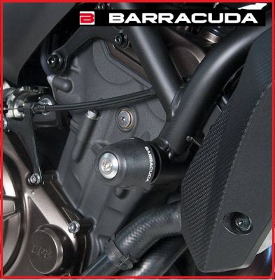 KIT COPPIA TAMPONI SLIDER PARATELAIO BARRACUDA YAMAHA MT-07 MT 07